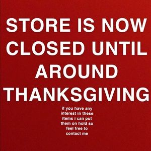 STORE TEMPORARILY CLOSED